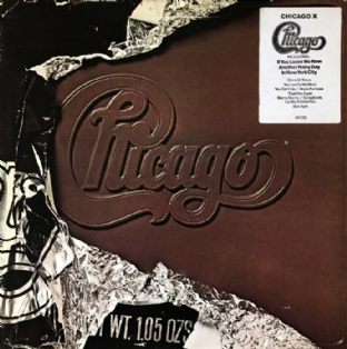 Chicago - Chicago X (LP) (VG+/VG)